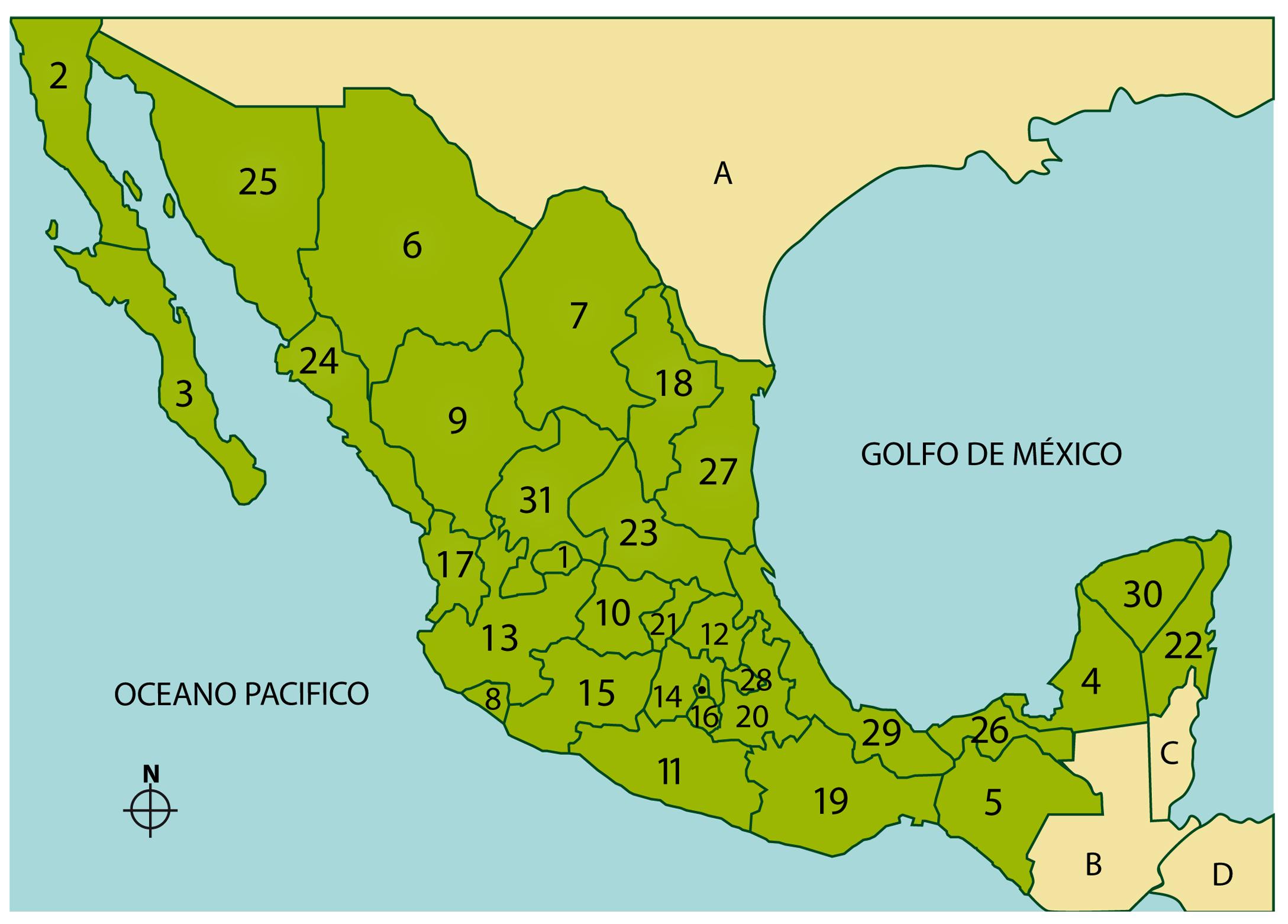 Regiones de México - www.redestravel.com/mexico